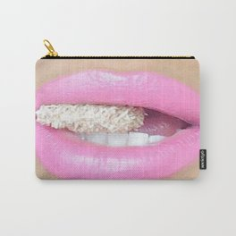 Baby Pink Lips Carry-All Pouch