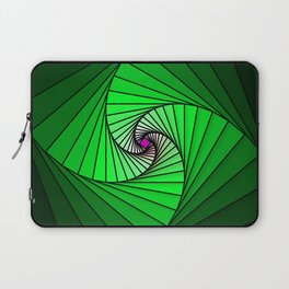 Spirale en vert, 2140b Laptop Sleeve