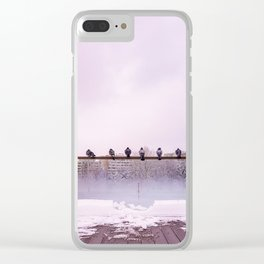 Winter Show Clear iPhone Case