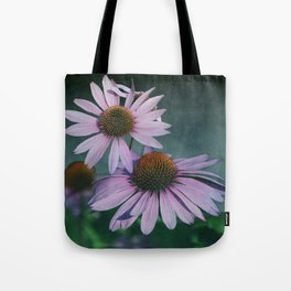 Beautiful summer with pink Echinacea / Daisy flowers Tote Bag