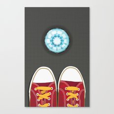 Casual Friday at Stark Industries Canvas Print