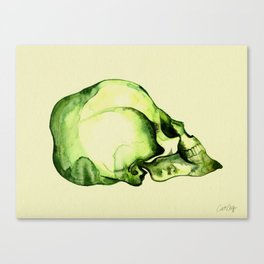 Painted Skull #2 Canvas Print