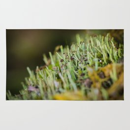 micro forest Rug