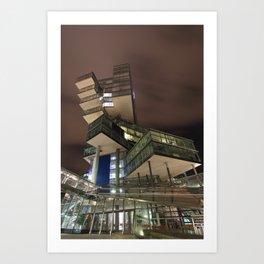 Nord/LB Hanover at Night Art Print