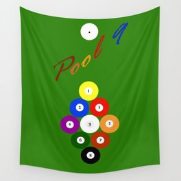 Pool 9. Color Wall Tapestry