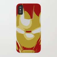 ironman iPhone & iPod Cases featuring Ironman by Adel