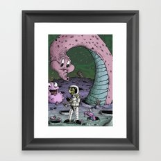 No Signs of Intelligent Life Framed Art Print
