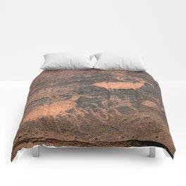 Desert Rock Art - Petroglyphs - II Comforters