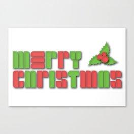 Merry Christmas - Christmas Cheer Canvas Print