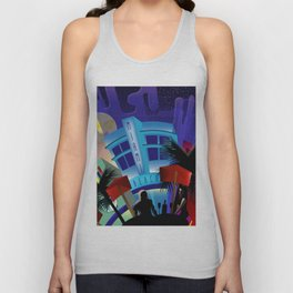 Miami Beach Unisex Tank Top