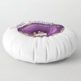 Donut ProCATsinate - Galaxy Cat Donut - Kawaii Kitty Floor Pillow