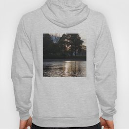 Sunset over River Ness Inverness Hoody