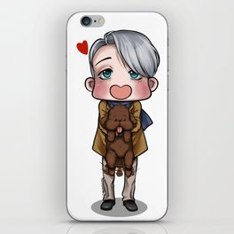 Viktor and Makkachin iPhone Skin