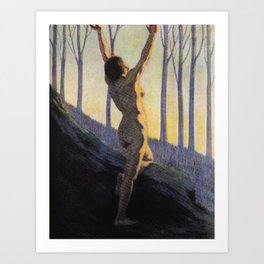 """""""We found our own, O my Soul, in the calm and cool of the daybreak"""" (Margaret C. Cook, 1913) Art Print"""
