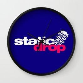 Static drop v2 HQvector Wall Clock