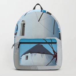 Mykonos Windmills Backpack