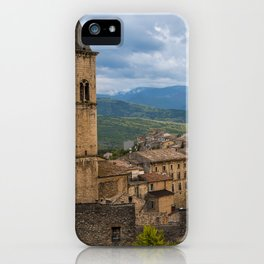 Pacentro iPhone Case
