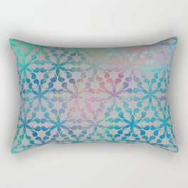 Flower of Life Variation - pattern 3 Rectangular Pillow