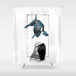 Haida Orca Shower Curtain