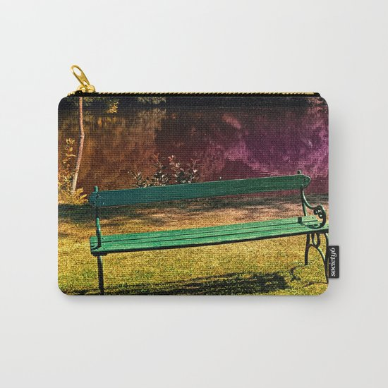 Bench at the pond Carry-All Pouch