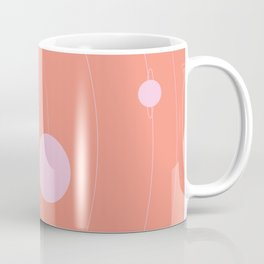 Orbit, pink Coffee Mug