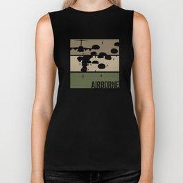 Airborne Jump Biker Tank