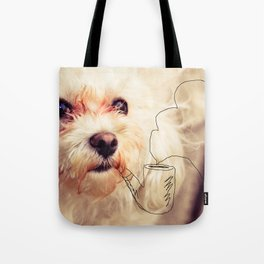 old dog Tote Bag