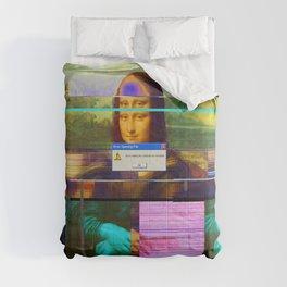 Mona Lisa _corrupt Comforters