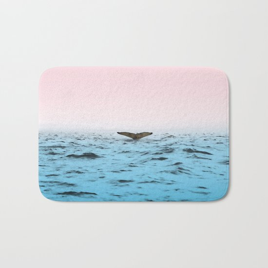 In the Middle of Ocean Bath Mat