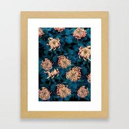 Сhrysanthemums Framed Art Print
