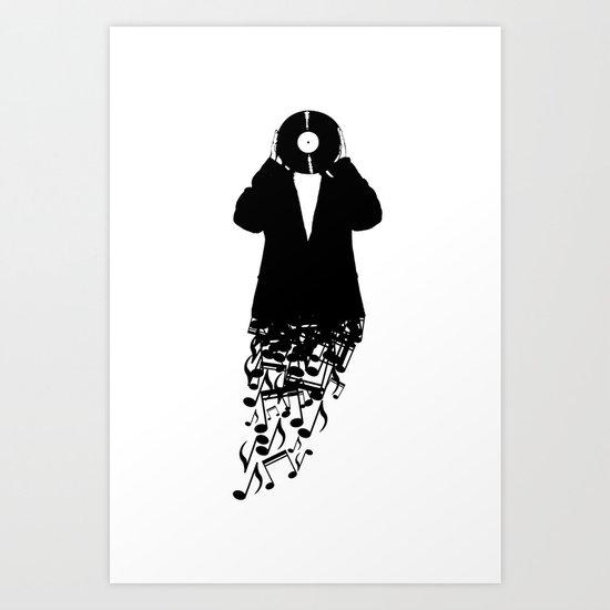 Musicman Art Print