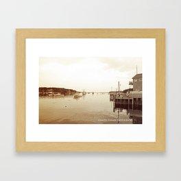 Port Clyde Framed Art Print