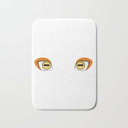 Sage Mode Eyes Bath Mat