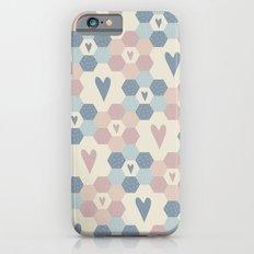 Hexagon Flowers Slim Case iPhone 6s