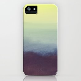 Coastal Landscape Abstract iPhone Case