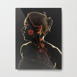 Essence of Poppy Power! Metal Print