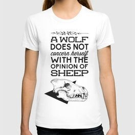 A Wolf Does Not Concern... T-shirt