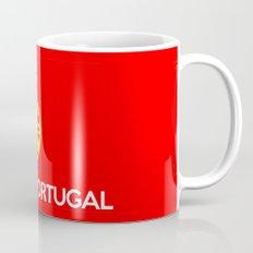 Portugal country flag name text Mug