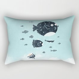 Let's Fly Away Rectangular Pillow