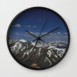 From the Top of the Rockies Wall Clock