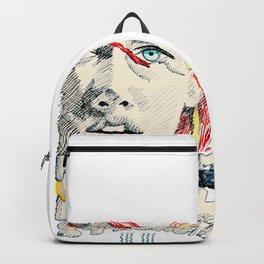 Leeloo Dallas portrait Backpack