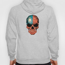 Dark Skull with Flag of Taiwan Hoody