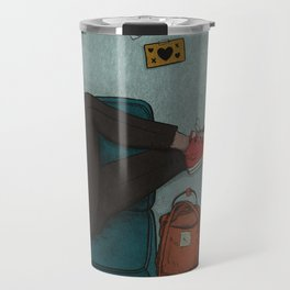 Girl on the Couch Travel Mug