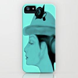 Audrey Blue iPhone Case