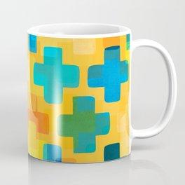 Positivity / Abstract Geometric Pattern Coffee Mug