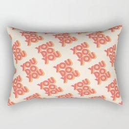 You Do You Block Type Rectangular Pillow