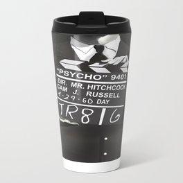 Hitchcock Metal Travel Mug