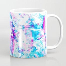 Cyan Fire Coffee Mug