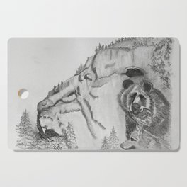 The Fairytale about the Wolf, Bear, and the Lion Cutting Board