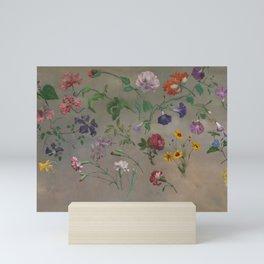 Studies of Flowers by Jacques-Laurent Agasse, 1848 Mini Art Print